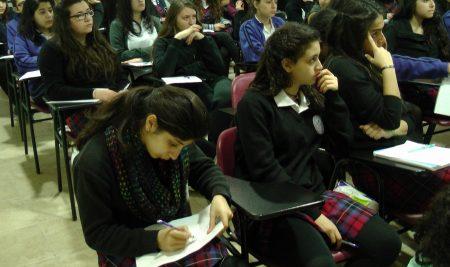 التوجيه الدراسي في مدرسة راهبات الوردية
